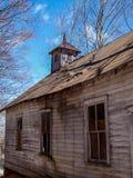 Stary Zaniechany kościół w Virginia obrazy royalty free