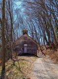 Stary Zaniechany kościół w Virginia fotografia stock
