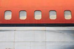Stary zaniechany samolot w Chiang Mai, Tajlandia 1 obraz stock