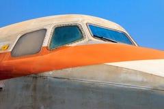Stary zaniechany samolot w Chiang Mai, Tajlandia 9 zdjęcia royalty free