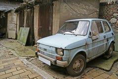 Rdzewiejący samochód Obraz Stock