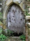 Stary zapominający drzwi Zdjęcie Royalty Free
