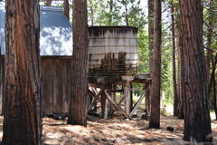 stary zbiornik wody Obrazy Stock