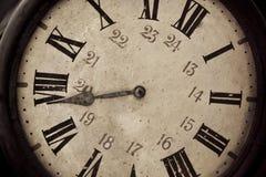stary zegar światła fotografia stock