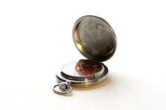 stary zegarek metali Zdjęcie Stock