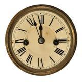 stary zegarowy szczegół Obrazy Royalty Free