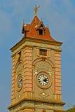 Stary zegarowy wierza Obrazy Royalty Free