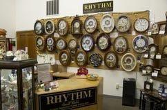 Stary zegaru sklep obraz stock