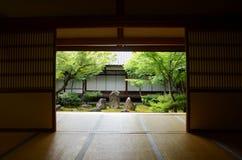 Stary Zen Świątynny Kennin-ji, Swój ` pięć Zen znacząco świątynie Kyoto ` obraz stock