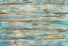 Stary zieleni grunge drewno zaszaluje tło Obrazy Stock