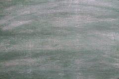 Stary zielony chalkboard tło Fotografia Stock