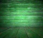 Stary zielony pokój Fotografia Royalty Free
