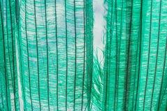 Stary zielony słońce ochrony brak i siatka obrazy stock
