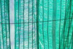 Stary zielony słońce ochrony brak i siatka zdjęcie stock