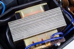 Stary zintegrowany - obwody w analogowym radiowym odbiorcy Oporniki, zdjęcia royalty free