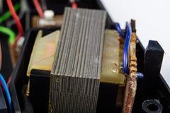 Stary zintegrowany - obwody w analogowym radiowym odbiorcy Oporniki, obraz royalty free