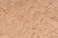 Stary zmięty papierowy tekstury tło, zamyka up Zdjęcie Stock
