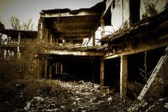 Stary zniszczony budynek zdjęcia royalty free