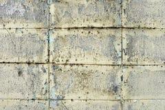 Starych bielu kamienia bloków Ścienny tło Zdjęcia Stock
