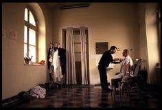 1992 Starych fotografii Psychiatic szpital Zdjęcie Stock