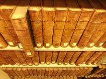 Starych książek biblioteczna czytelnicza historia Zdjęcie Stock