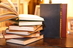Starych książek edukacja Obraz Stock