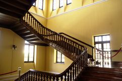 Starych schodków akcyjni wizerunki obrazy stock
