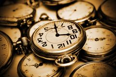 starych zegarków obrazy royalty free