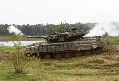 Starytchi Ukraina, Wrzesień, - 6, 2018 Ćwiczenia wojskowe z Zdjęcie Stock