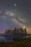 Staryy night landscape Stock Photos