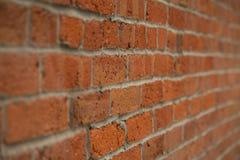 Starzejąca się ściana z cegieł przekątna Zdjęcia Stock