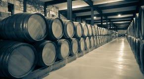Starzejąca się fotografia wytwórnia win obrazy royalty free