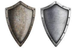 Starzejąca się metal osłona ustawiająca odizolowywającą Zdjęcie Royalty Free