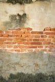 Starzejący się ścienny tekstury tło Fotografia Royalty Free