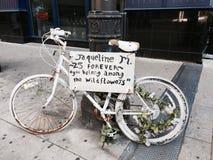 Starzejący się bicykl Zdjęcia Stock