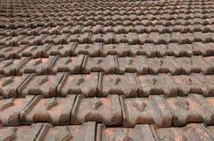 Starzejący się dach Zdjęcie Royalty Free