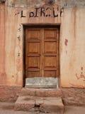 Starzejący się drzwi Zdjęcie Royalty Free