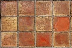 starzejący się gliniany posadzkowy śródziemnomorski istny rzymski kwadrat Obrazy Stock