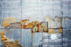 Starzejący się grunge textured plenerowy ścienny tło obraz stock