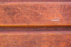 Starzejący się ośniedziały czerwony pomarańczowy tło Obrazy Stock