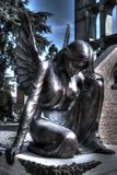 Starzejący się opiekunu anioł Zdjęcie Royalty Free
