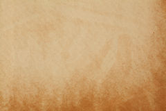 Starzejący się papier textured wzór Ciemna żółta album pokrywy kanwa Pusty pusty makro- widok Zdjęcie Stock