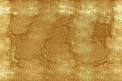 Starzejący się pergaminowy tło z przestrzenią, złotem i bielem, zdjęcia royalty free