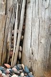starzejący się skały starzejący się drewno Zdjęcie Stock