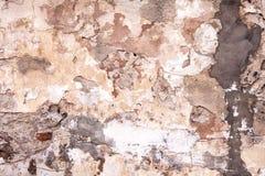 Starzejący się ulicy ściany tło, tekstura Fotografia Stock