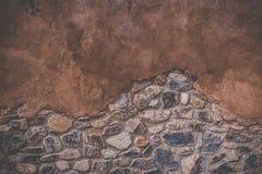 Starzejący się ulicy ściany tekstury tło Zdjęcia Royalty Free