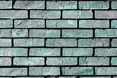 Starzeję się szczotkował ściany z cegieł teksturę - fantastyczny abstrakcjonistyczny fotografii tło obrazy royalty free