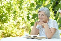 starzeje się kobieta centralna Zdjęcia Royalty Free