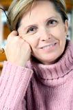 starzeje się kobieta centralna Zdjęcie Royalty Free
