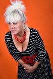 starzeje się kobieta centralna Zdjęcie Stock